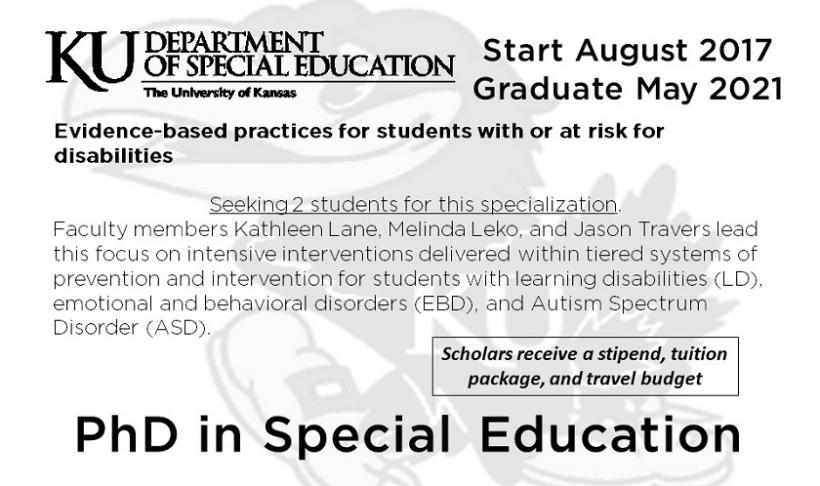 PhD in Special Education