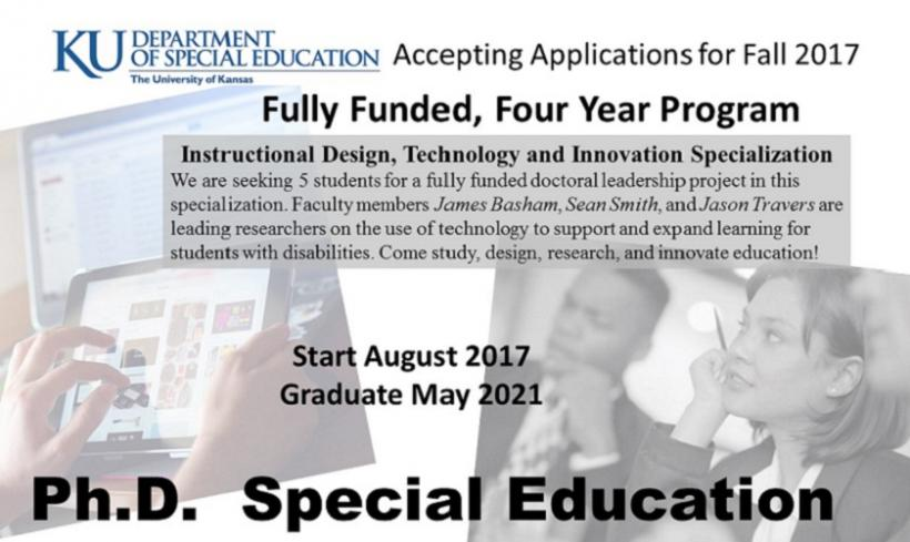 Ph.D in Special Education at KU | Technology & Innovation