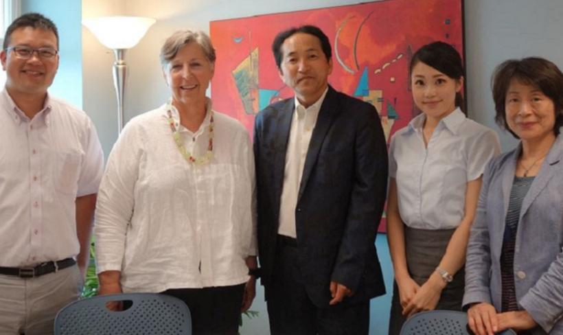 Yamagata University visits KU SPED Department